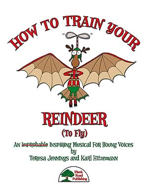 How To Train Your Reindeer (To Fly) Cover
