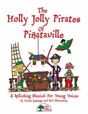 The Holly Jolly Pirates Of Piñataville Cover